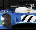 La Matra Simca MS 670B, vainqueur des 24h du Mans 1973 avec Henri PESCAROLO et Gérard LARROUSSE sera présente ...