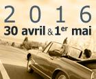 La 9e édition des Classic Days aura lieu  les 30 avril et 1er mai 2016.
